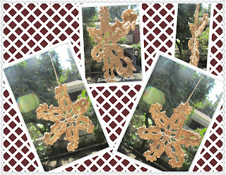 free crochet pattern, free crochet snowflake doily