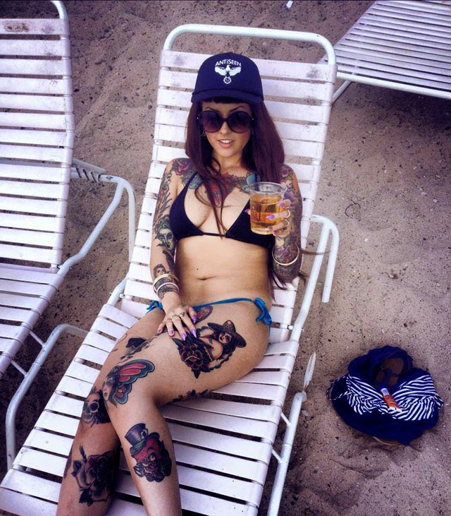 TK Horan - Sexy Tattooed Girls Female Models With Tattoos