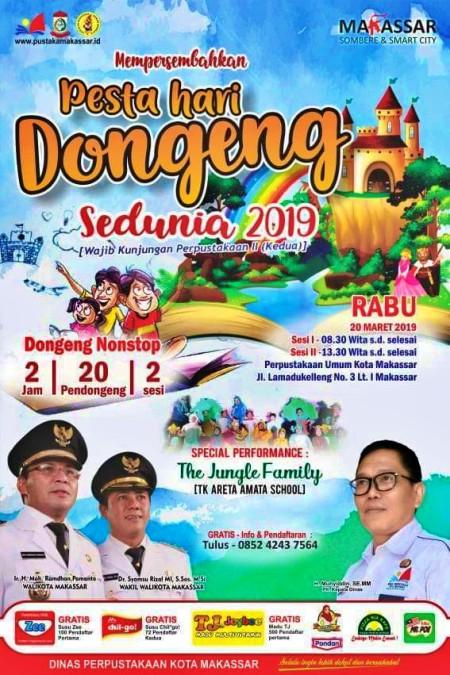 Hari Dongeng Sedunia 2019 di Makassar