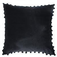 Black Velvet Cushions