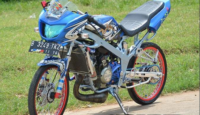 kumpulan modifikasi motor ninja r super kips