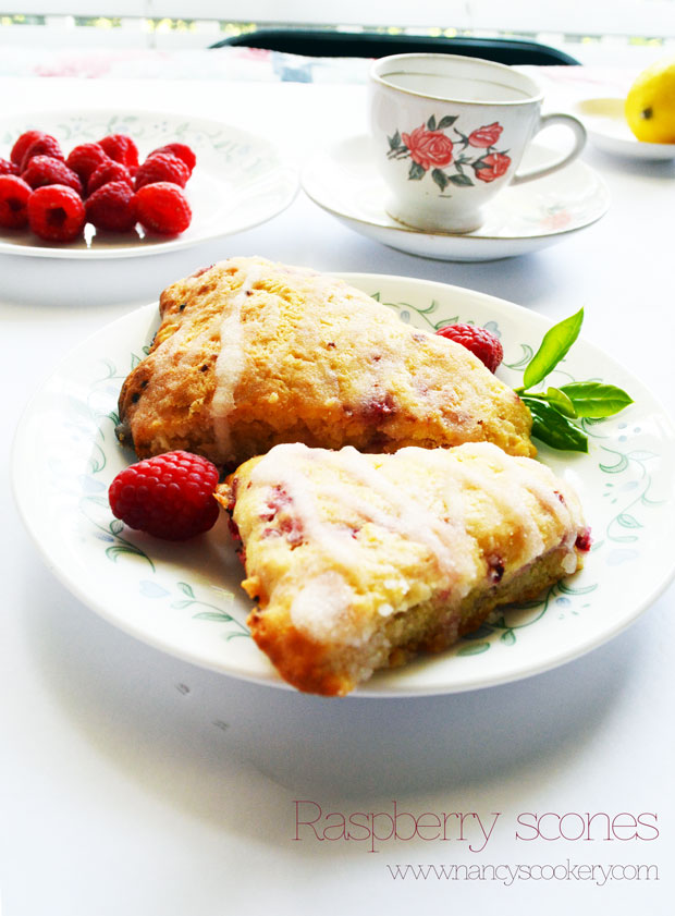 Raspberry Scones Recipe