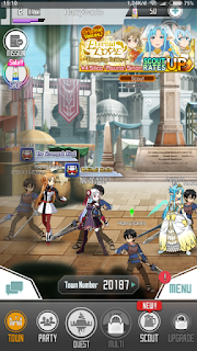 Sword Art Online Memory Defrag MOD Apk - Free Download Android Game
