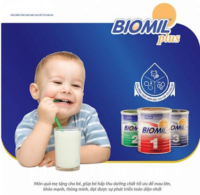 sữa sinh học biomil