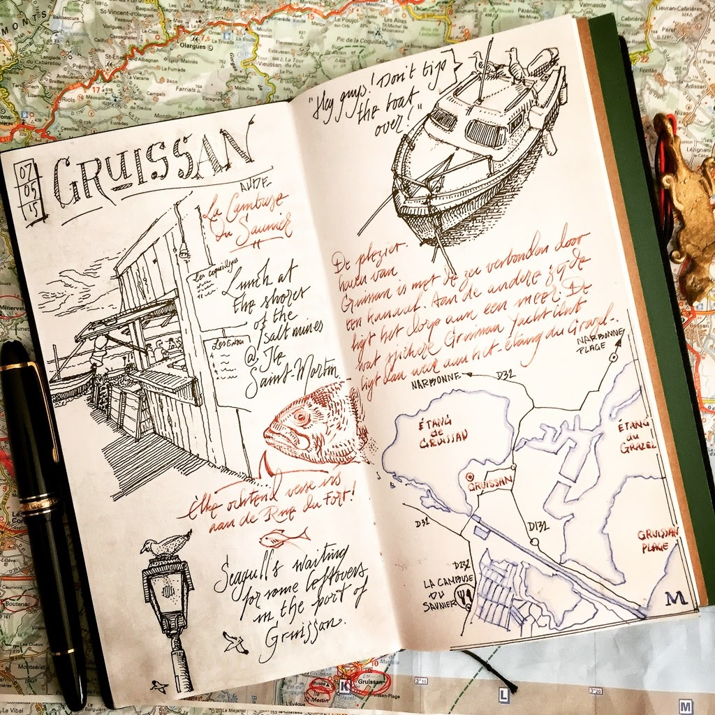 05-Gruissan-Plage-dessinauteur-Urban-Sketches-and-Travel-Journals-on-Moleskine-www-designstack-co