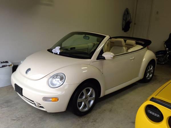 2004 Vw Beetle Gls Turbo Convertible