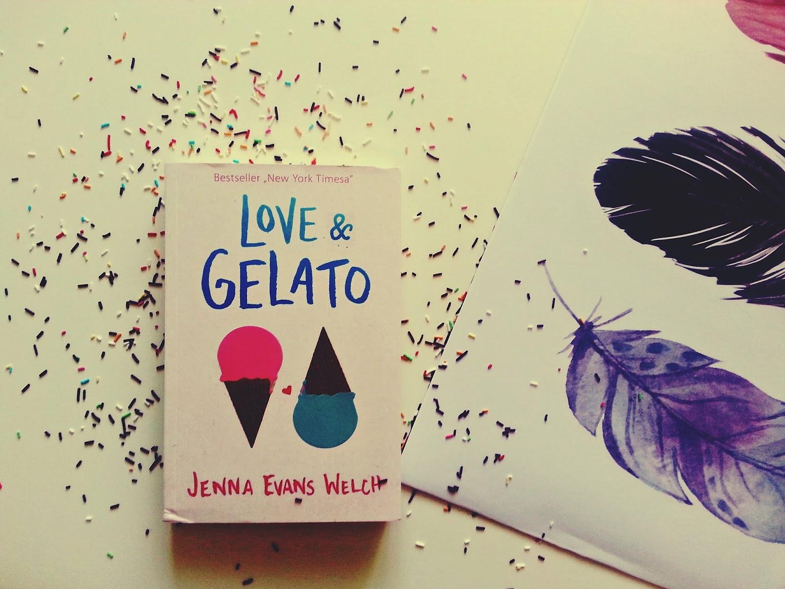 Love & Gelato, love and gelato, Jenna Evans Welch, Publicat, Wydawnictwo Dolnośląskie, książka, recenzja