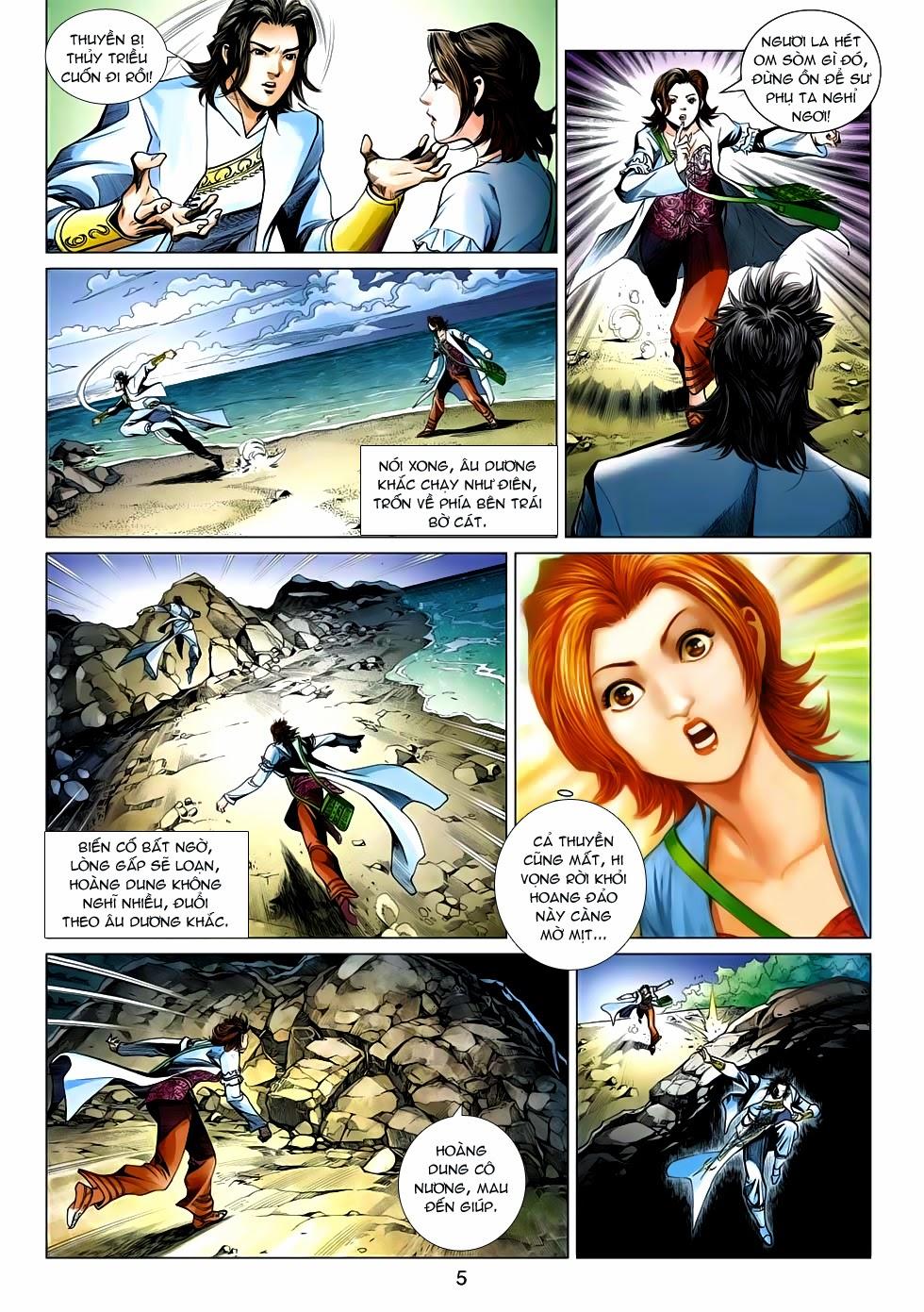 Anh Hùng Xạ Điêu anh hùng xạ đêu chap 54: kiếp hậu dư sinh thiến nữ kỳ mưu trang 5