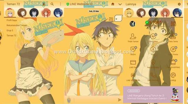 Download Tema Line Anime Nisekoi