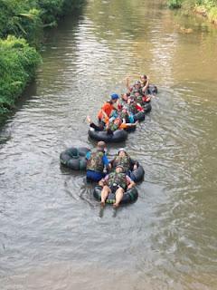 Seru dan menyenangkan menjajal River Tubing Sumber Salam, Tajinan