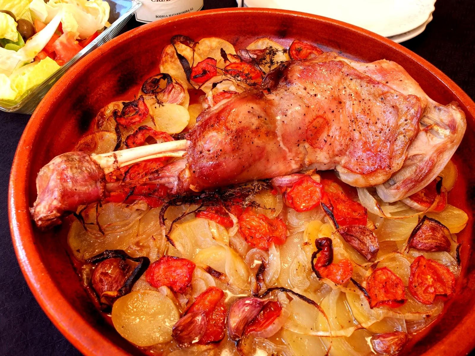 Cocinando con lola garc a paletilla de cordero lechal al for Cocinar paletilla de cordero