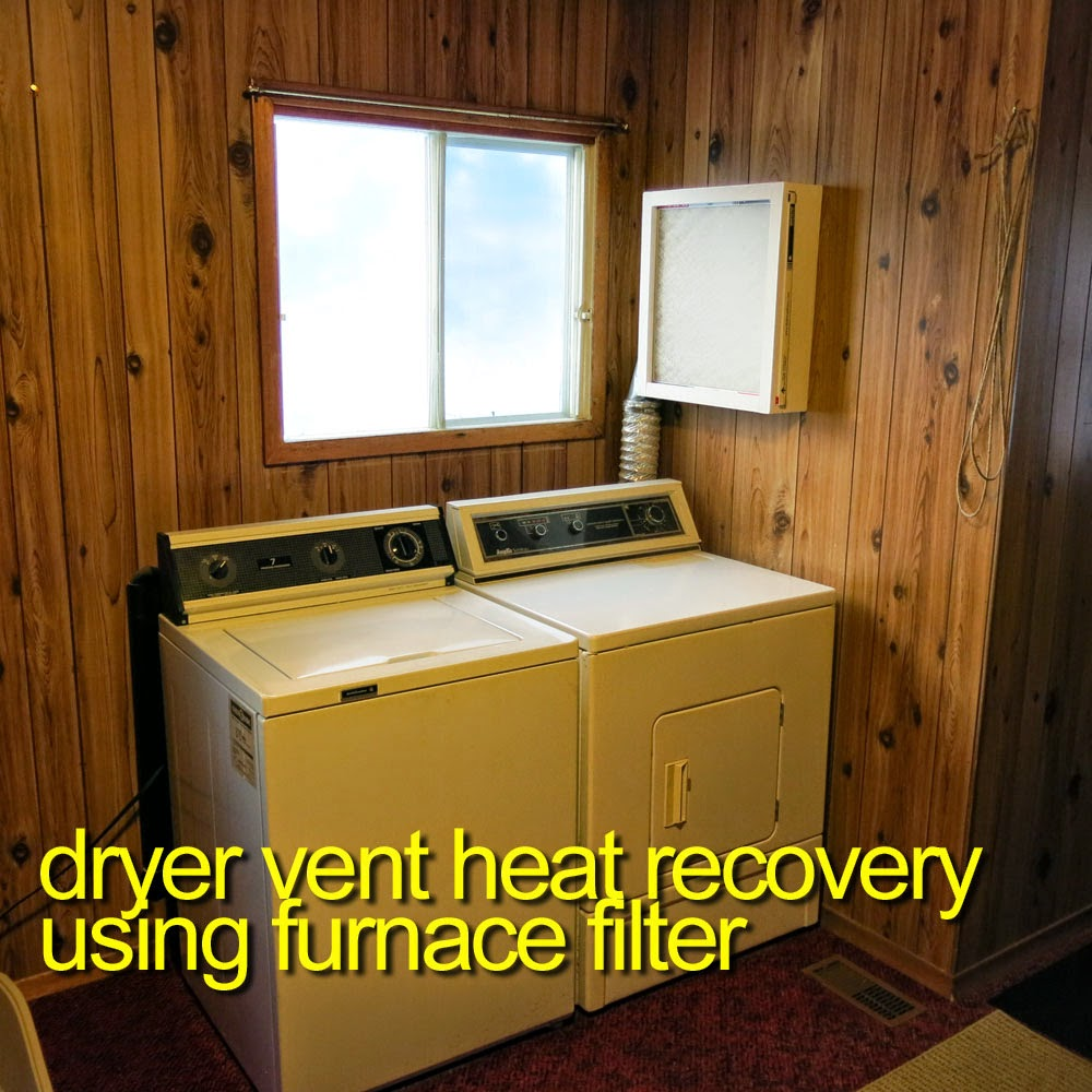Georgesworkshop Clothes Dryer Heat Recovery
