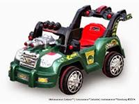 Mobil Mainan Aki Bintang R826 Cool War Jeep