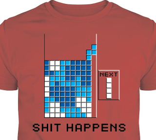 Tetris Video Game Shirt
