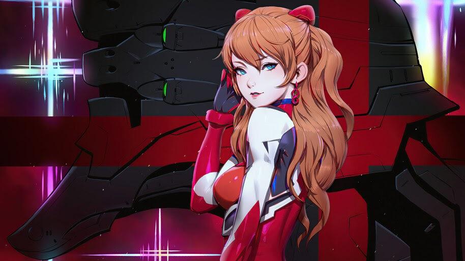 Anime, Girl, Asuka, Evangelion, 4K, #6.2209