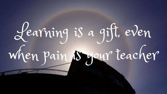 pain is teacher