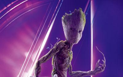Groot Avengers Infinity War - Fond d'écran en Full HD