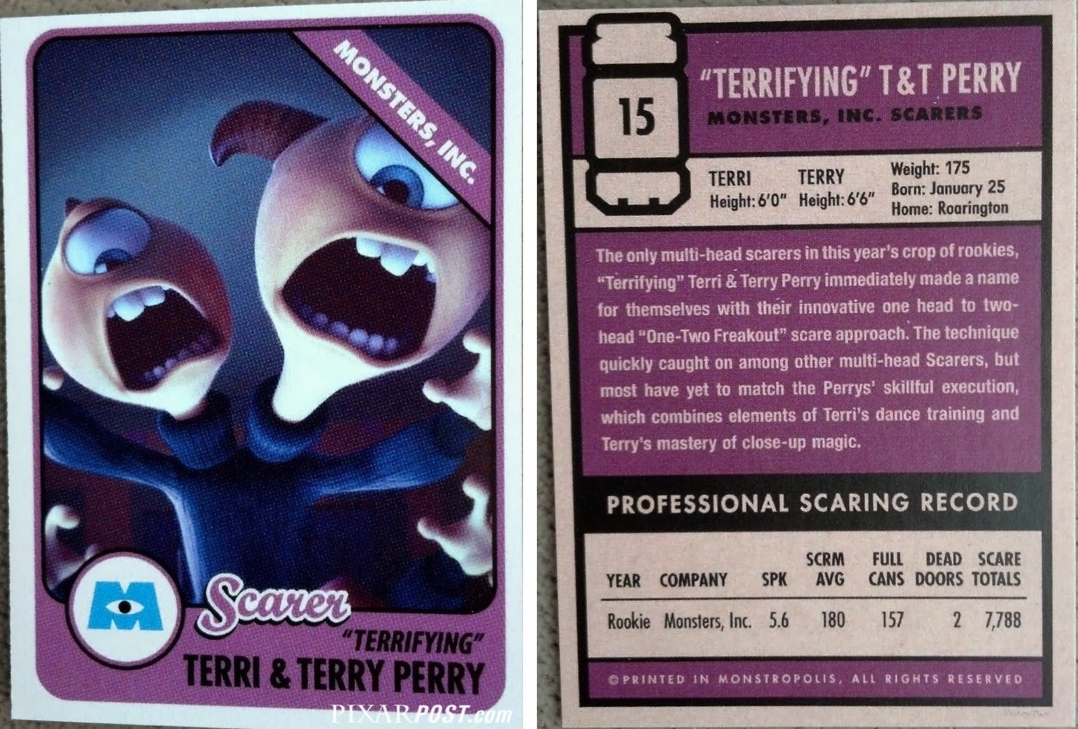 Monsters University Scare Cards - The Complete Guide ...