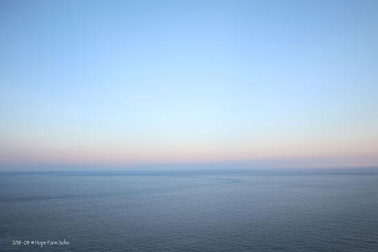 綠島海參坪夕照