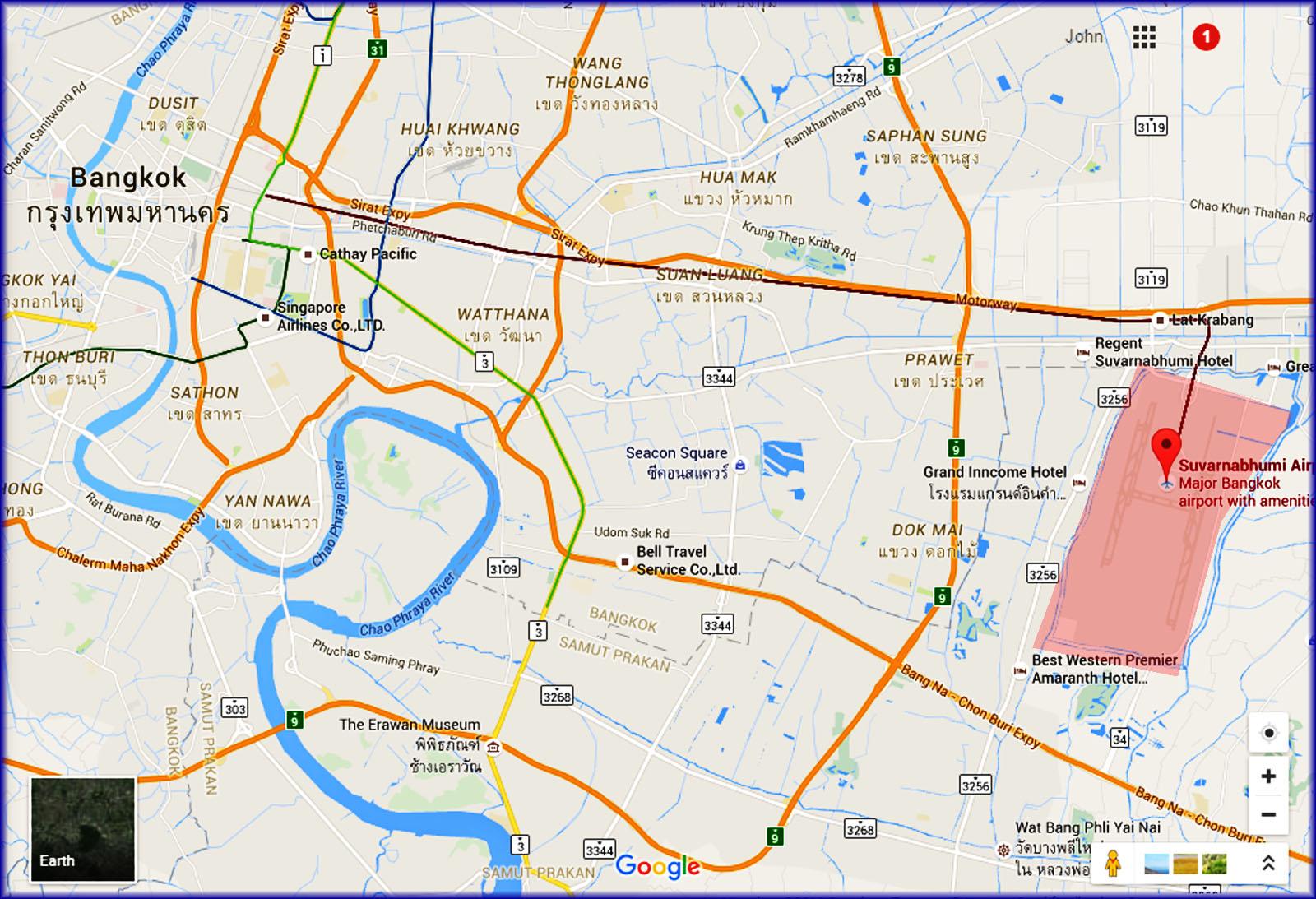 Trip Report Suvarnabhumi Airport Bangkok Thailand My