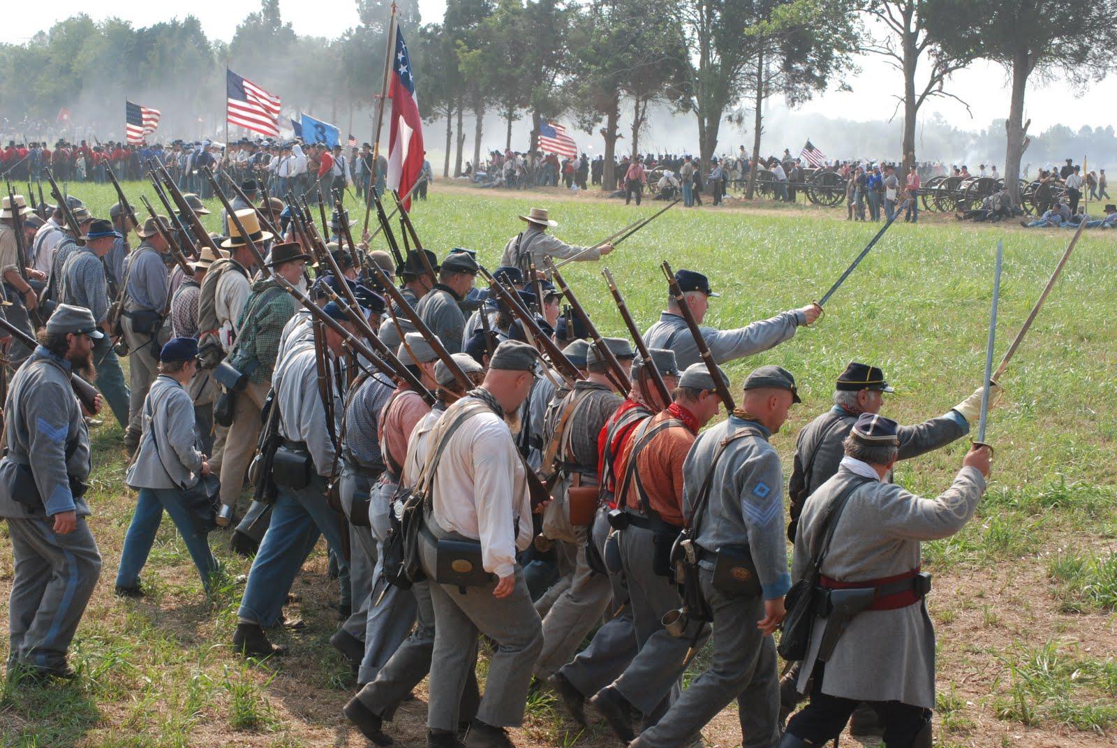 Battle Of Manassas 150th Reenactment Discerning History