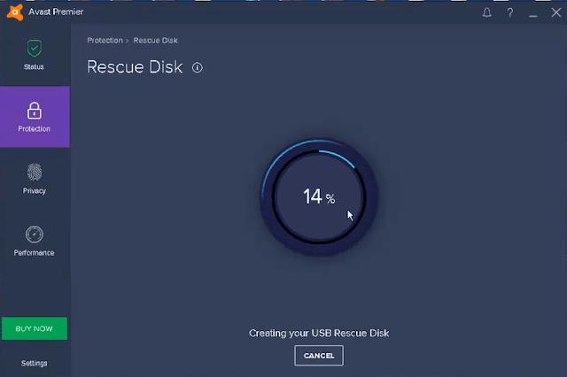 شرح أسطوانة الإنقاذ Avast Rescue Disk لحذف كل الفيروسات وتسريع الكمبيوتر