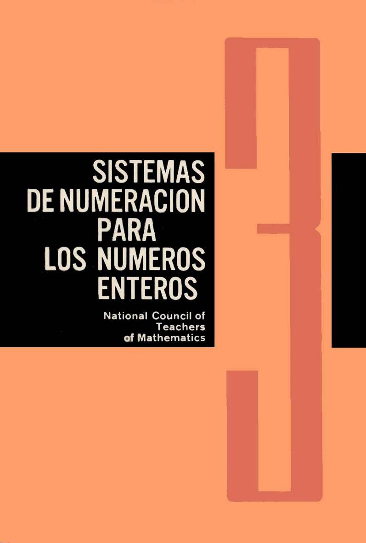 Cuaderno 3: Sistemas de numeración para los números enteros