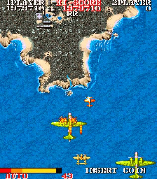 1943 the battle of midway+arcade+game+portable+retro+shootemup+download free