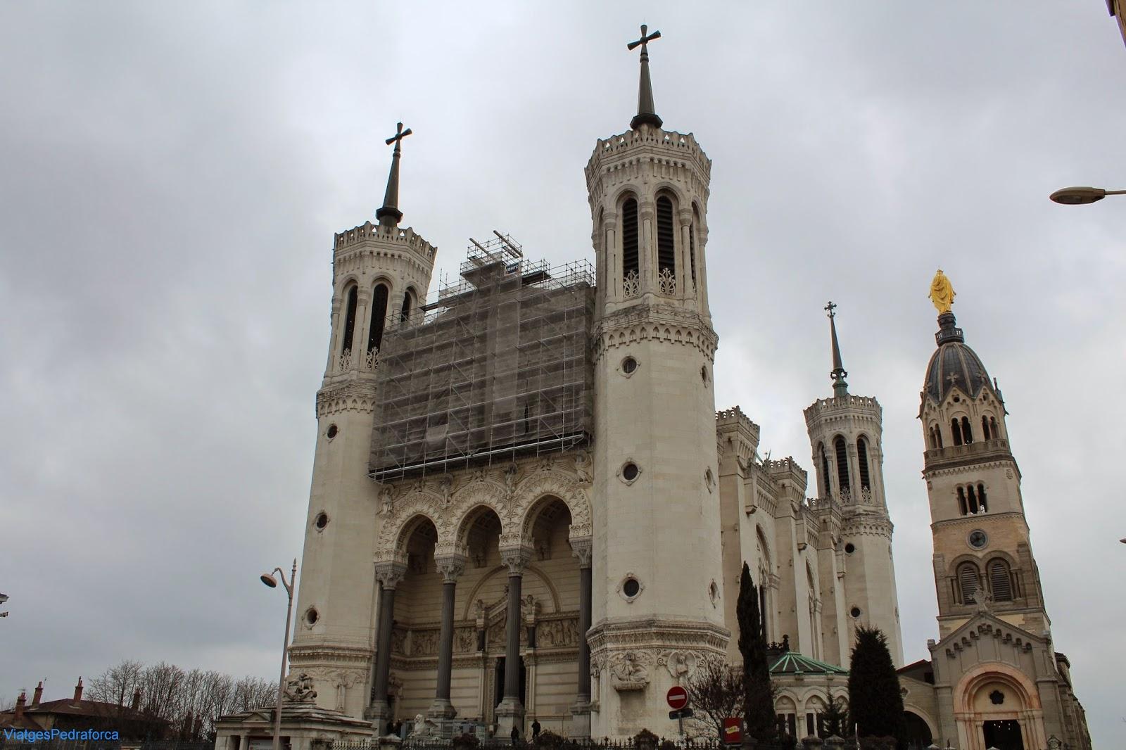 Lyon, Fourvière, Notre-Dame de Fourvière, Lió, Rône-Alpes, França, France