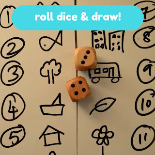 Practical Mom Best of 2016: Roll Dice & Draw!