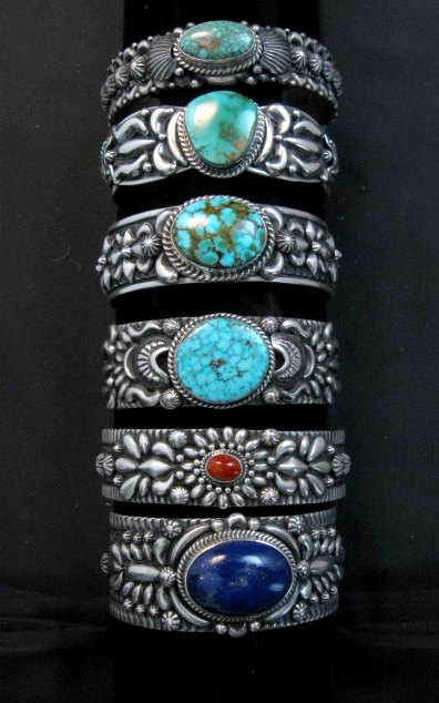 Great Selection of Darryl Becenti Jewelry