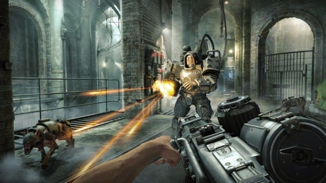 Wolfenstein The Old Blood PC Games Gameplay