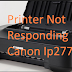 Printer Not Responding Canon Ip2770