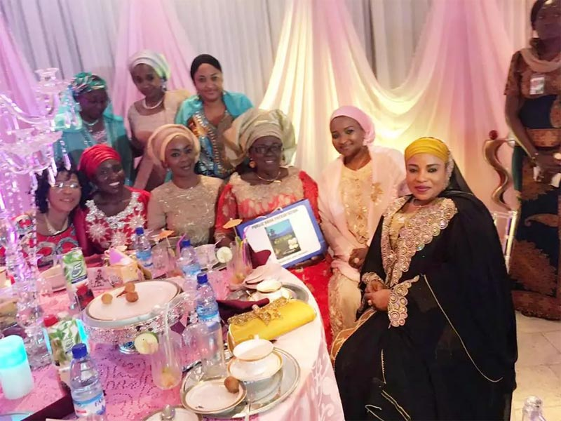 Patience Jonathan absent as Aisha Buhari hosts former Nigerian leaders' wives in Abuja