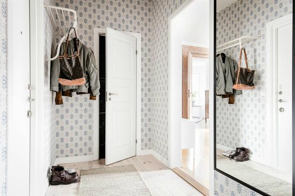 Pared de madera con carácter en vivienda de estilo nórdico by Habitan2 | Añade un elemento sorprendente en la deco de tu hogar con el upcycling