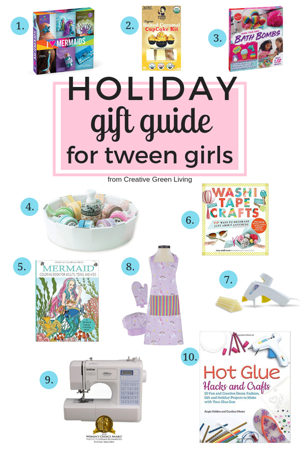 2020 Best Gift Ideas For Creative Tween Young Teen Girls Creative Green Living