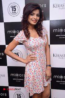 Actress Sanchita Shetty Pictures at Mirrors Salon App Launch Event 0019