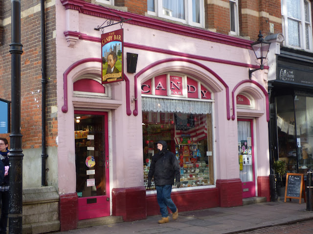 Sweet shop on Rochester High Street, Kent