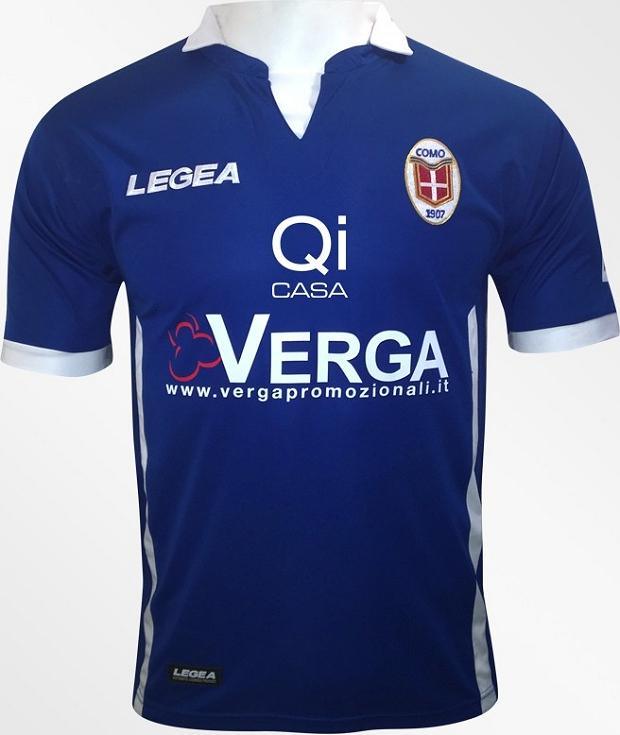 8a0d1449f8408 Legea apresenta as novas camisas do Como - Show de Camisas
