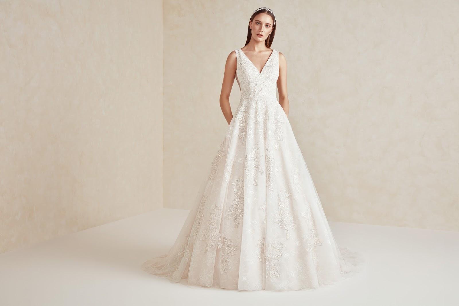 H M İlkbahar Yaz 2019 Gelinlik Elbise Modelleri