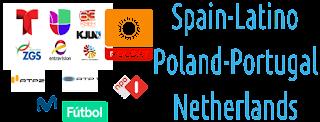 Spain movistar Futbol Latino PT NL Poland Kodi