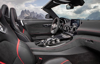2016 Mercedes-AMG GT C Cabin Interior