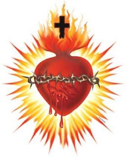 Resultado de imagem para coração de jesus imagem