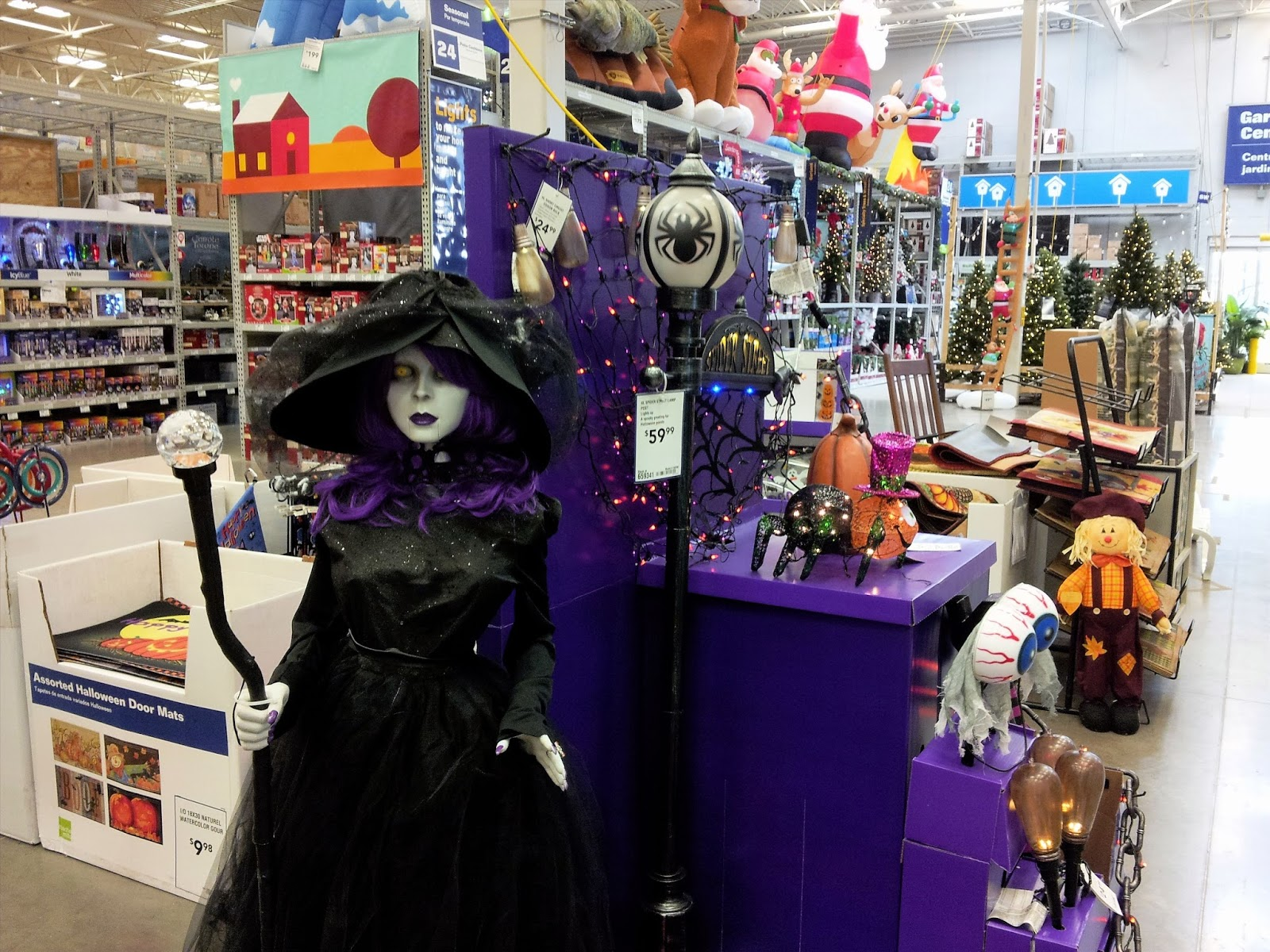 halloween home improvement style - Lowes Halloween Decorations