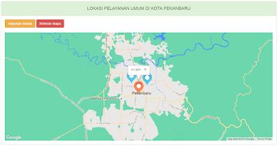 Google maps dengan php dan mysql