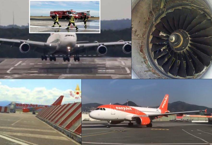 Bird strike: volo aereo Easyjet costretto al rientro a Lamezia Terme.