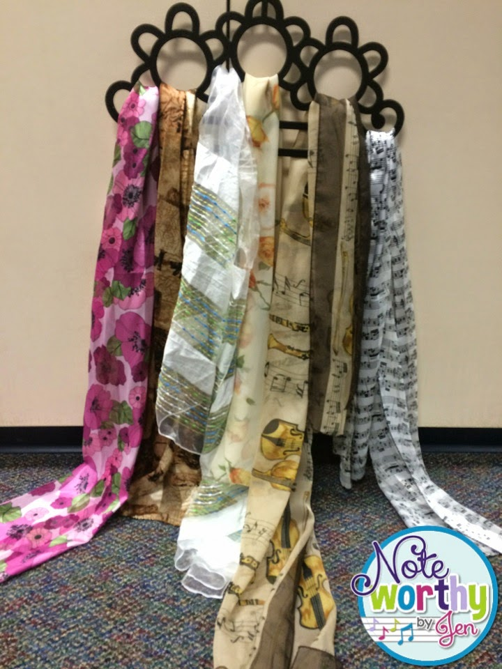 Noteworthy By Jen: Motivation During Movement: Special Scarves