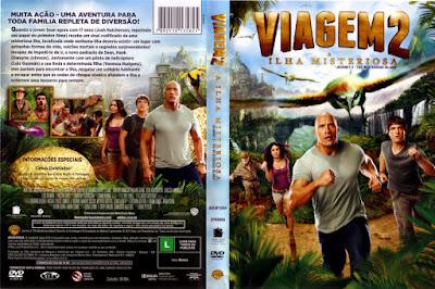 Filme Viagem 2 - A Ilha Misteriosa DVD Capa