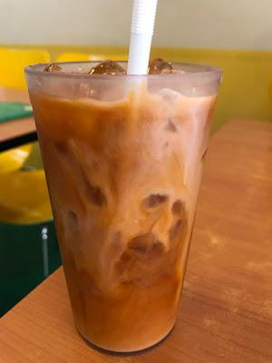 Thai Gold Food, iced tea
