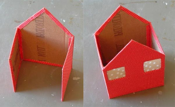 kartondan maket ev planları